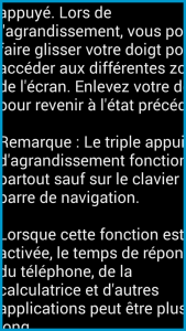 [ANDROID] Malvoyance, comment vraiment adapter son mobile ? 15