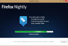 Firefox nightly - Un coup d'avance