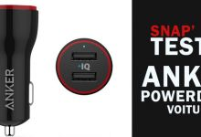 [Snap'Test] PowerDrive 2 : le chargeur de voiture Anker