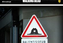 StreetArt: The Walking Dead à Paris