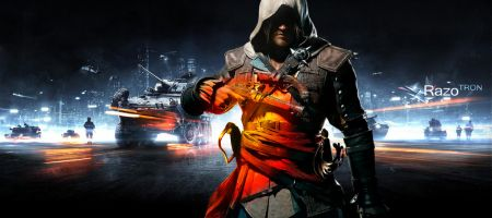 Assassin's creed 4 et Battlefield 4 à la PGW