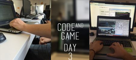 Code and Game – Jour 3