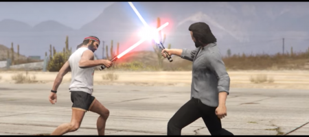 Quand Star Wars rencontre GTA V !