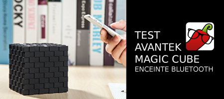 [TEST] Enceinte portable Bluetooth Avantek
