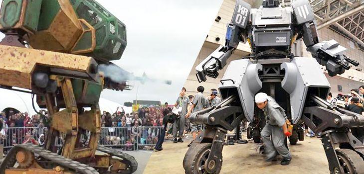 combat de robot